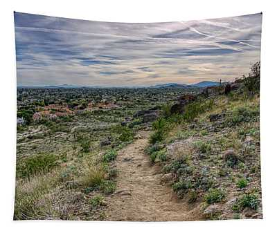 Following The Desert Path Tapestry