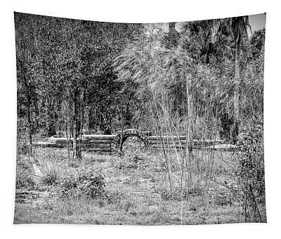 Footbridge To Nowhere Tapestry
