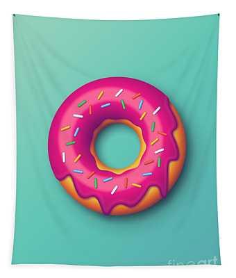 Forbidden Doughnut - Mint Tapestry
