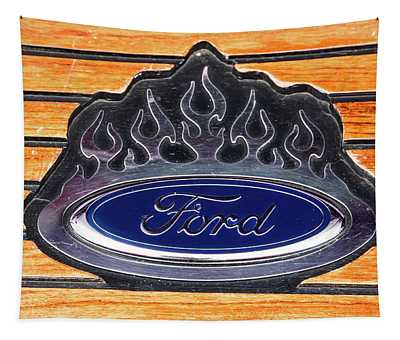 Ford Fire Tapestry