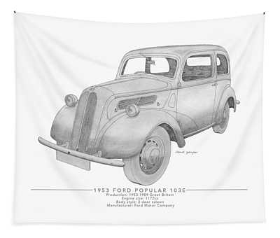 Ford Popular 103e Saloon Tapestry