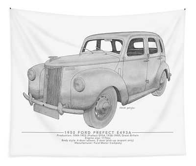 Ford Prefect E493a Saloon Tapestry