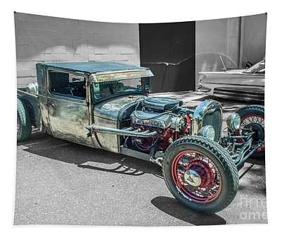 Ford Rat Rod Tapestry