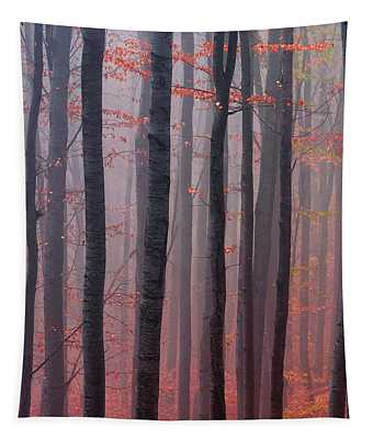 Forest Barcode Tapestry