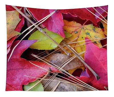 Forest Floor 1 Tapestry