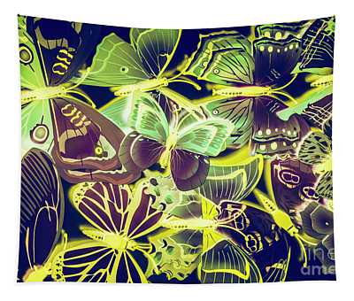 Forest Flutters Tapestry