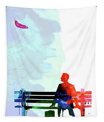 Forest Gump Watercolor II Tapestry