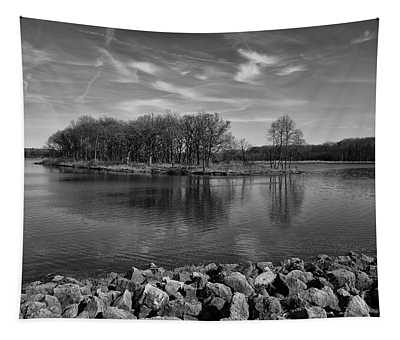 Forest Island Tapestry