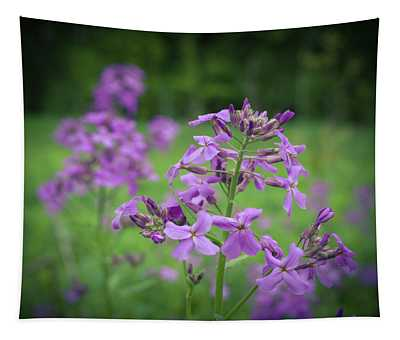 Forest Wild Flowers 2 Tapestry