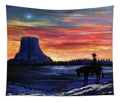 Forever West Tapestry