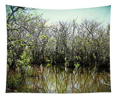 Spooked In The Everglades Tapestry