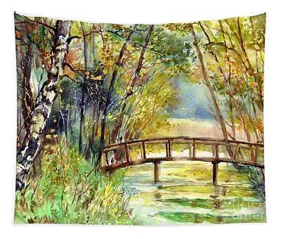 Forgotten Bridge Tapestry