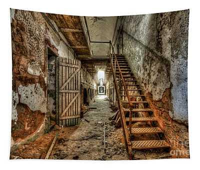 Forgotten Stairway Tapestry