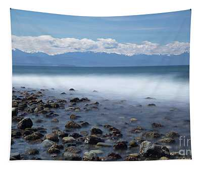 Fort Ebey Waves Tapestry