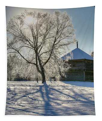 Fort Halifax Winter Tapestry