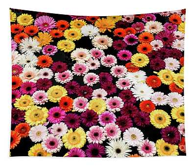 Fountain Flowers Tapestry