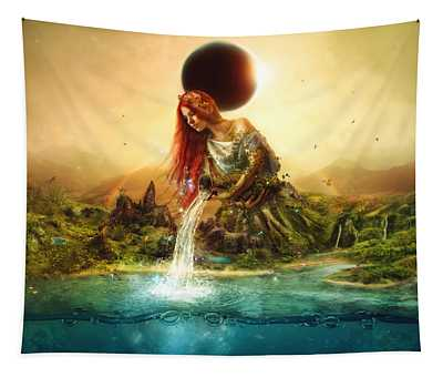 Fountain Of Eternity Tapestry