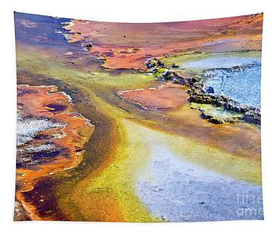 Fountain Paint Pot Tapestry