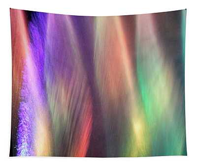 Fountains Of Color Tapestry