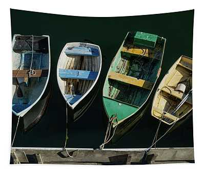 Four Dinghies Tapestry