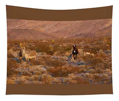 Four Legged Wild Family Tapestry