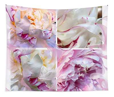 Four Peonies  Tapestry