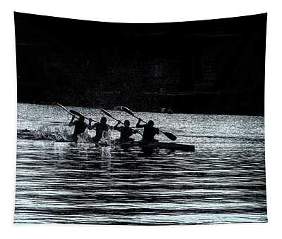 Four Rowers Tapestry