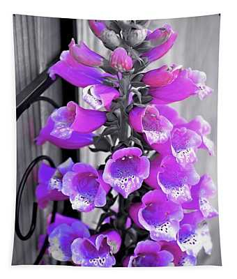 Tapestry featuring the photograph Foxglove by Patti Whitten