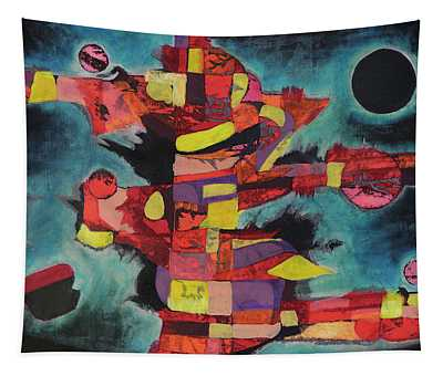Fractured Fire Tapestry