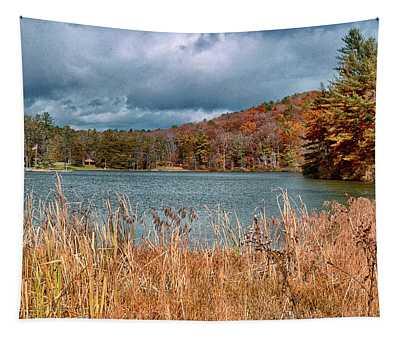 Framed Lake Tapestry