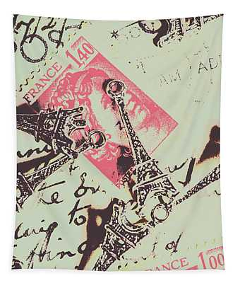 Francs Script Tapestry