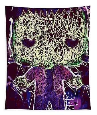 Frankenstein Pop Tapestry