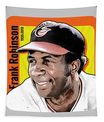Frank Robinson Tribute Tapestry