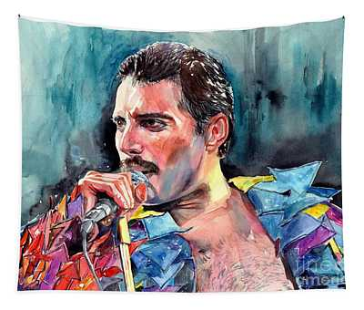 Freddie Mercury, New York City 1983 Tapestry