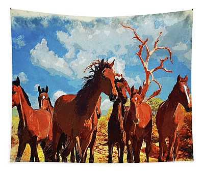 Free Spirits Tapestry