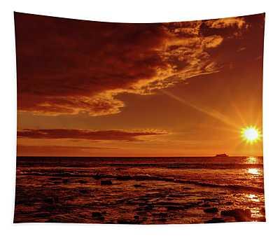 Friday Sunset Tapestry