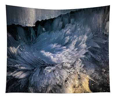 Frost Crystals Tapestry