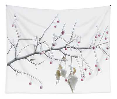 Frosted Berries Tapestry