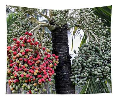 Fruity Palm Tree  Tapestry