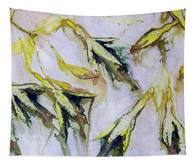 Fuchsia Eco Printed Magic Tapestry