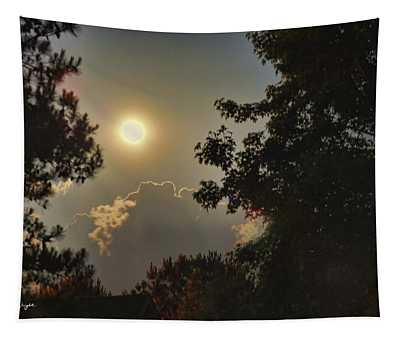 Full Moon In Spring Tapestry