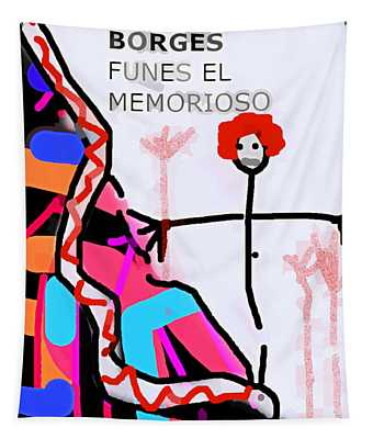 Funes Borges  Poster Tapestry