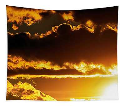Tapestry featuring the photograph Fusion In The Sky by Matthew Nelson