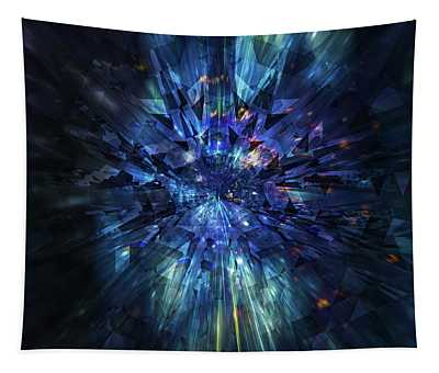 Galactic Crystal Tapestry