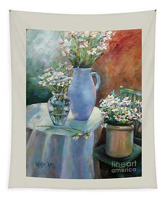 Garden Daisies Tapestry