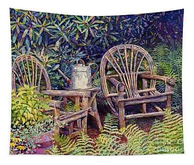 Garden Retreat Tapestry
