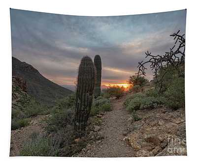 Gates Pass Sunset Trail Tapestry