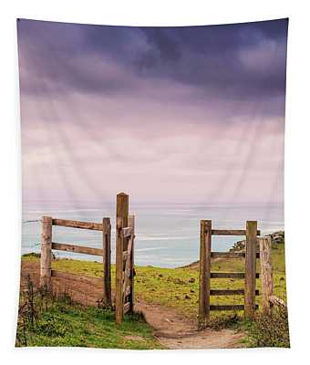 Gateway To The Coast Tapestry