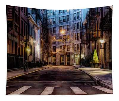 Gay Street Greenwich Village Tapestry