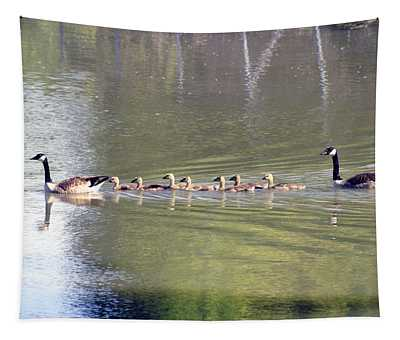 Geese Family Tapestry